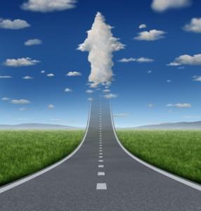shutterstock_Road to Cloud Arrow