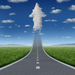 shutterstock_Road to Cloud Arrow